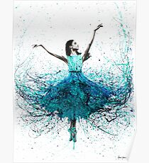 Coral Night Dancer Poster