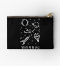 Welcome to my space Zipper Pouch
