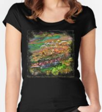 The Atlas of Dreams - Color Plate 205 Women's Fitted Scoop T-Shirt