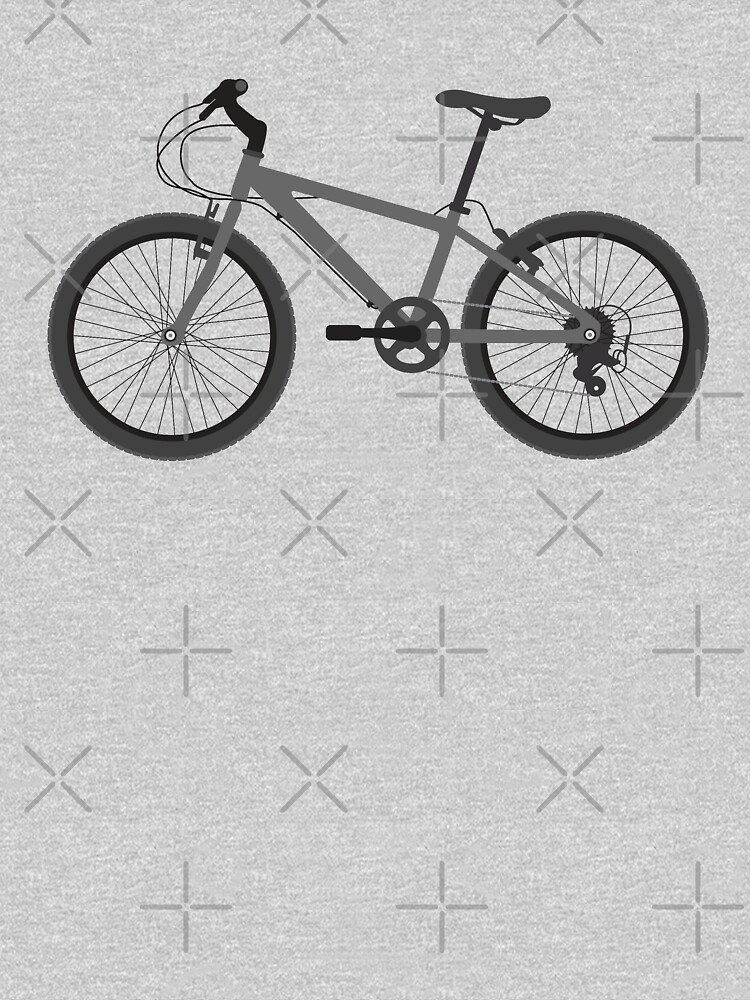 Mountain Bike - b/w Bicycle (Greyscale) by thedrumstick