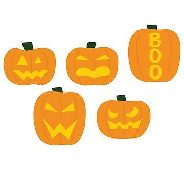 Halloween Pumpkins by ysruss