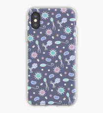 Microbes Dark iPhone Case
