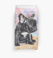 French Bulldog Puppy Duvet Cover