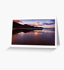 Tidal river toward Little Oberon - Wilson Promontory Greeting Card