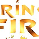 Strings on Fire Logo by mare