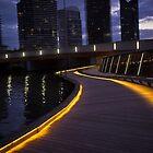 Jim Stynes Bridge Melbourne Vic Australia by PhotoJoJo