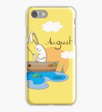 August. iPhone Case/Skin