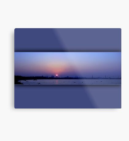 The last October sunset  Metal Print