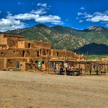 Taos Pueblo New Mexico by DianaG