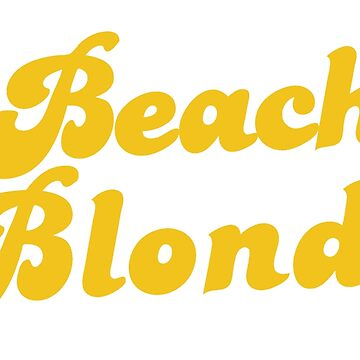 BEACH BLONDE (latest full version) by jazzydevil