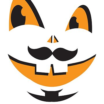 JACK-O-LANTERN smiley face cute smiles with teeth! Halloween! by jazzydevil