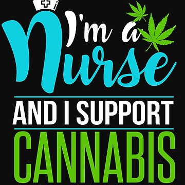 Marijuana Cannabis Support Nurse CBD Oil Cure Awareness Shirt Nurse Hat by normaltshirts