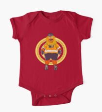 Gritty  the flyers mascot One Piece - Short Sleeve