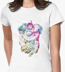 Digestive tract Women's Fitted T-Shirt