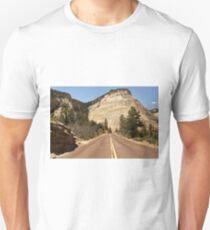 Road To Checkerboard Rock © T-Shirt