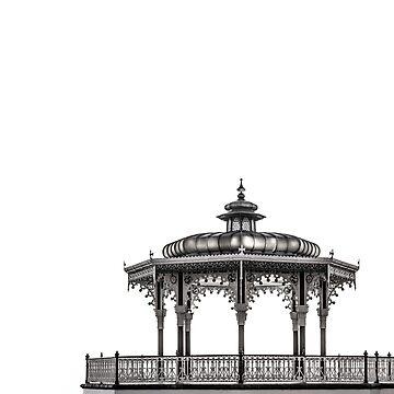 Birdcage Bandstand by chuckirina
