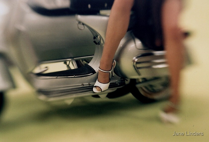 High Heel Vespa by Jane Linders
