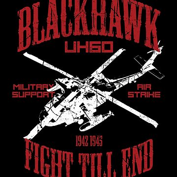 BlackHawk Helicopter by EddieBalevo