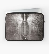Tesla In Study Laptop Sleeve