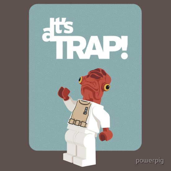 TShirtGifter presents: It's a Trap! T-Shirt