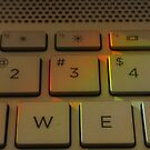 Sunlit Keyboard  by OliviaHathaway