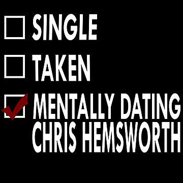 Mentally dating... Chris!  by Sasya