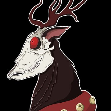Rudolph the Dead Nosed Reindeer by flailingmuse