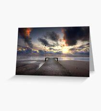 Sea Scale Beach Greeting Card