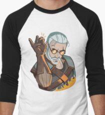 Salt Bae Geralt Men's Baseball ¾ T-Shirt