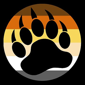 Gay Bear Pride, Paw Logo by RFive