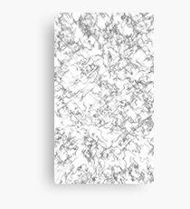 Shade-Wire Canvas Print