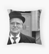Bank Manager Throw Pillow