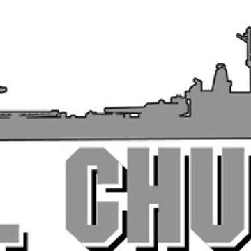 USS Chuckburger by ironsightdesign