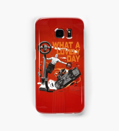 Singing in the Hell Samsung Galaxy Case/Skin