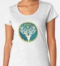 Camiseta premium para mujer Trono de cristal amuleto de orint