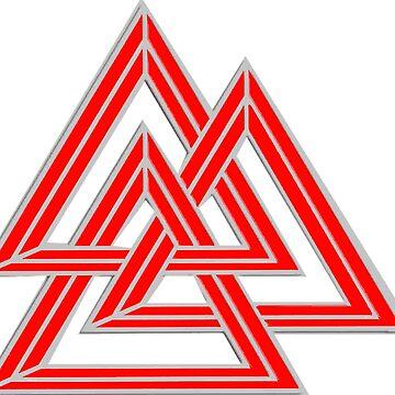 The Original 3 Teke Triangles by Quatrosales