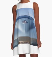 WIld Blue Yonder A-Line Dress