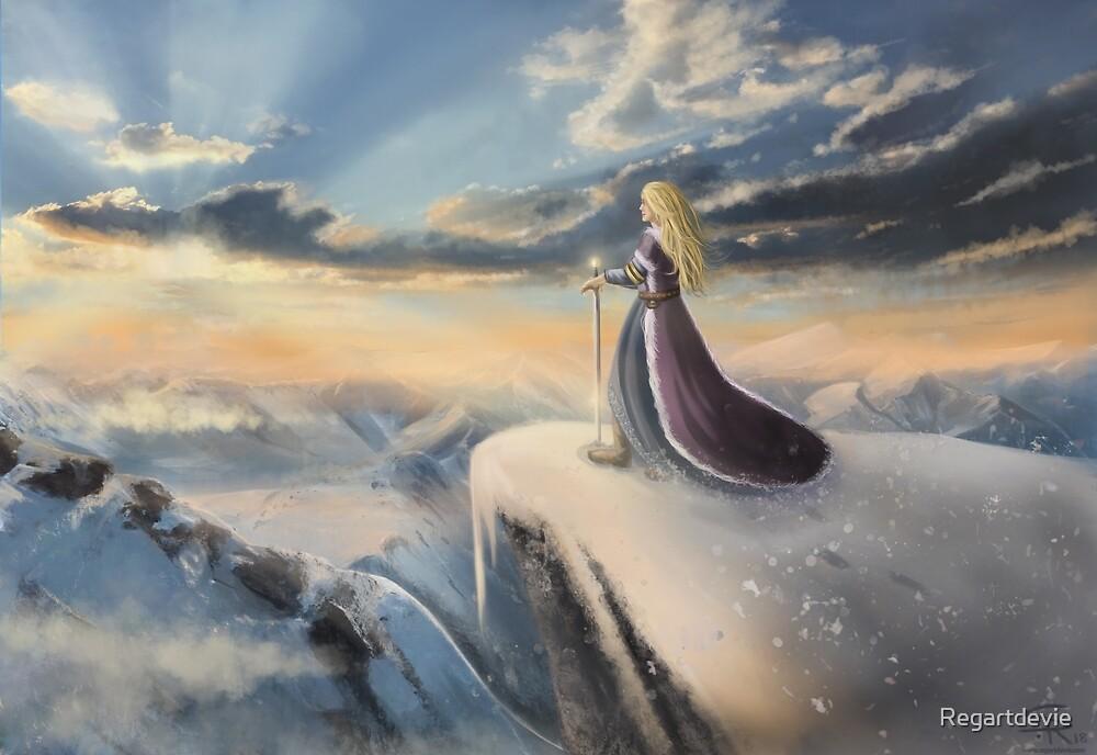 « Warrior Princess » par Regartdevie