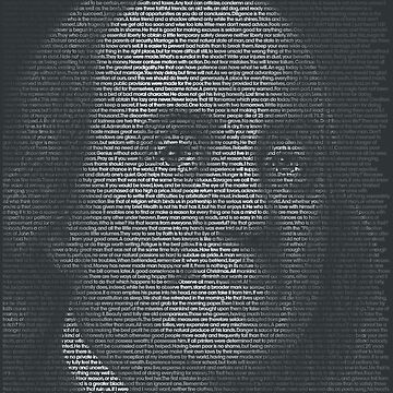 Benjamin Franklin Quote Portrait by qqqueiru