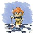 Agnes the cleaner by Ronnie Tucker