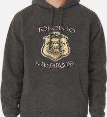 Sudadera con capucha La insignia policial de la policía de Toronto, cultura POP canadiense