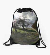 Scotland stop Drawstring Bag