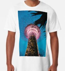 Singapore Super Trees Long T-Shirt