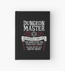 Cuaderno de tapa dura Dungeon Master, The Weaver of Lore & Fate - Dungeons & Dragons (Texto blanco)