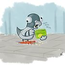 Pigeon by Ronnie Tucker
