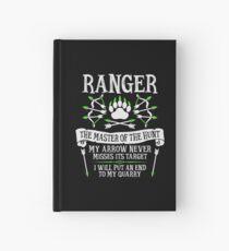 Cuaderno de tapa dura RANGER, El maestro de la caza - Dungeons & Dragons (Texto blanco)
