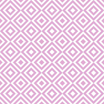 Purple Geometric Diamond Pattern by quarantine81