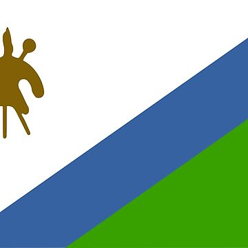 Flag of Lesotho by virginia50