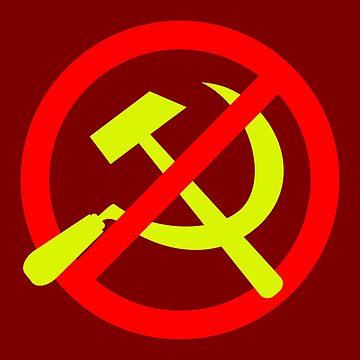 Anti-Communist Logo (Coloured) by RebarForOwt