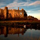 Laugharne Castle by Edward Bentley
